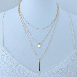 Noelle Geometry Necklace